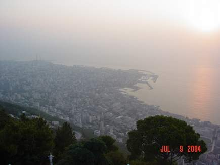 A trip to Harissa in the telepherique