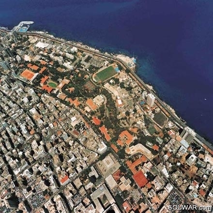 Lebanon From The Sky