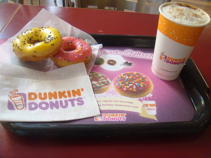 Dunkin Donuts Downtown Beirut