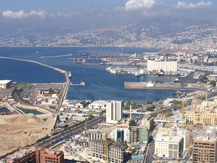 Port of Beirut, Picture Taken From the Balloon
