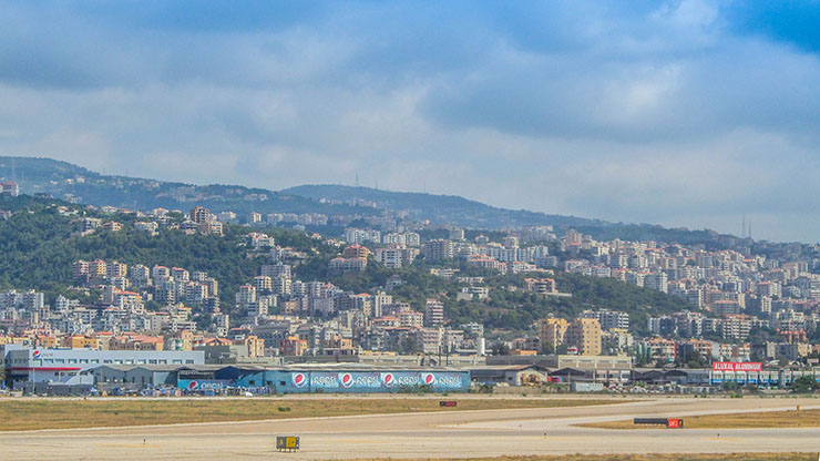 Beirut From Airport