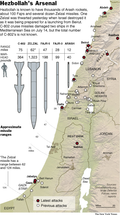 the details of the war between lebanon and israel 'israel releases map detailing hundreds of hezbollah sites in lebanon' map obtained by the washington post reveals that israeli intelligence officials believe that the 550 underground bunkers identified have been stocked with weapons transferred from syria since the 2006 second lebanon war.