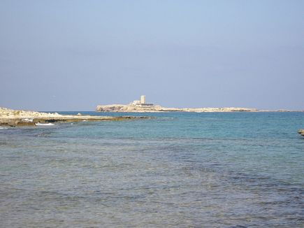 Lebanese Island on the coast of Tripoli