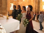 Beautiful Simple Nadine Labaki wedding