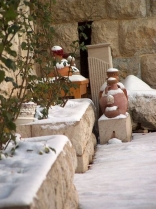 Snow Over Pottery