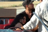 Haifa s car accident while filming her latest Video Clip