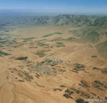 El Qaa from the sky