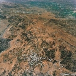 Kfar Selouane from the sky