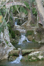 Water Fall in the village of knat el koura kaza in the north of Lebanon