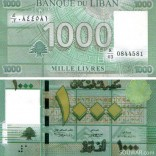 One Thousand Lebanese Pounds 2011