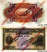 Five Lebanes Pounds 1939