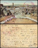 Turkey (Lebanon) 1922 Military Mail PPC from Baalbeck