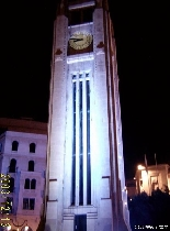 Abed Clock at night