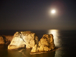 Pigeon  Rock (in Raouche Beirut)