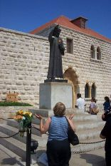 Praying in Mar Charbel - Annaya