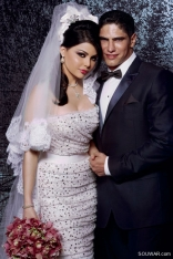 Haifa s Wedding (Dolce and Gabbanna Dress)
