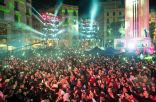 Downtown Beirut New Year's Eve 2018