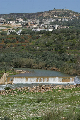 Litani River in the South of Lebanon