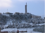 Zahleh under the snow