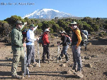 Hiking To Kilimanjaro, Tanzania Sept 2008- We were there