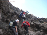 Hiking To Kilimanjaro, Tanzania Sept 2008- The karanga wall