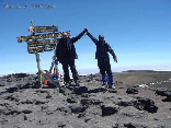 Hiking To Kilimanjaro, Tanzania Sept 2008- We did it
