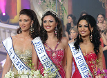 Miss Lebanon 2005 Gabrielle Bou Rashed. The first runner up was Anabella Hilal, and the second runner up was Nadine Yazbek