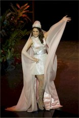 Martine Andraos at Miss Universe 2009 Preliminaries