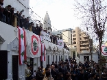 Mass in Achrafieh in Mar Mitr