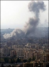 Israel Attacks Beirut July 2006