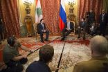 Russian Foreign Minister Sergey Lavrov met with Prime Minister of Lebanon Saad Hariri